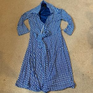 Laundry Wrap Dress XS